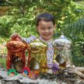 Metallic Small World Fairy House Set of 3,Small world play ideas,TTS small world play fairies,TTS school resources